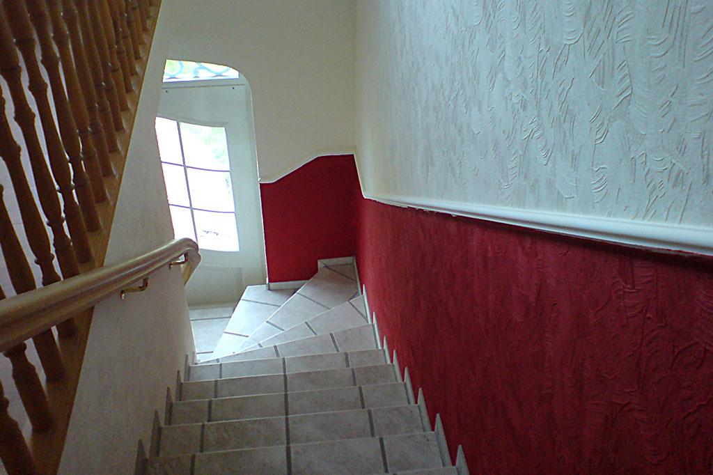 Gestaltung Treppenaufgang